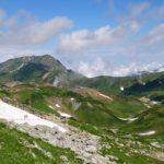真夏の立山
