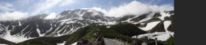 室堂平から望む夏の立山画像